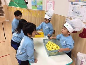 【2歳児クラス動画】Job Training ~Chef~ / お店やさんごっこ