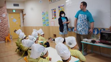【2歳児クラス動画】Job training ~Chef~ / ピザトースト作り