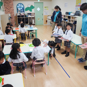 授業参観 ~日本語食育レッスンと英語ジョブトレーニング~