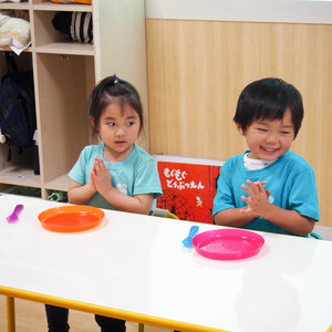 食育(3歳児クラス) ~食事のマナー~