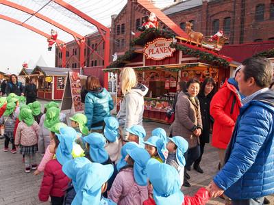 クリスマスマーケット@赤レンガ倉庫