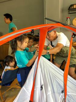TARPtoTARP キャンプ体験