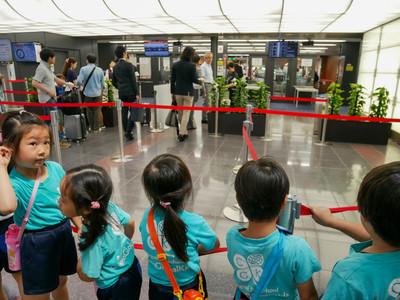 羽田空港見学