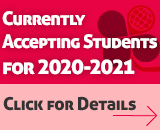 Currently  Accepting Students for 2020-2021